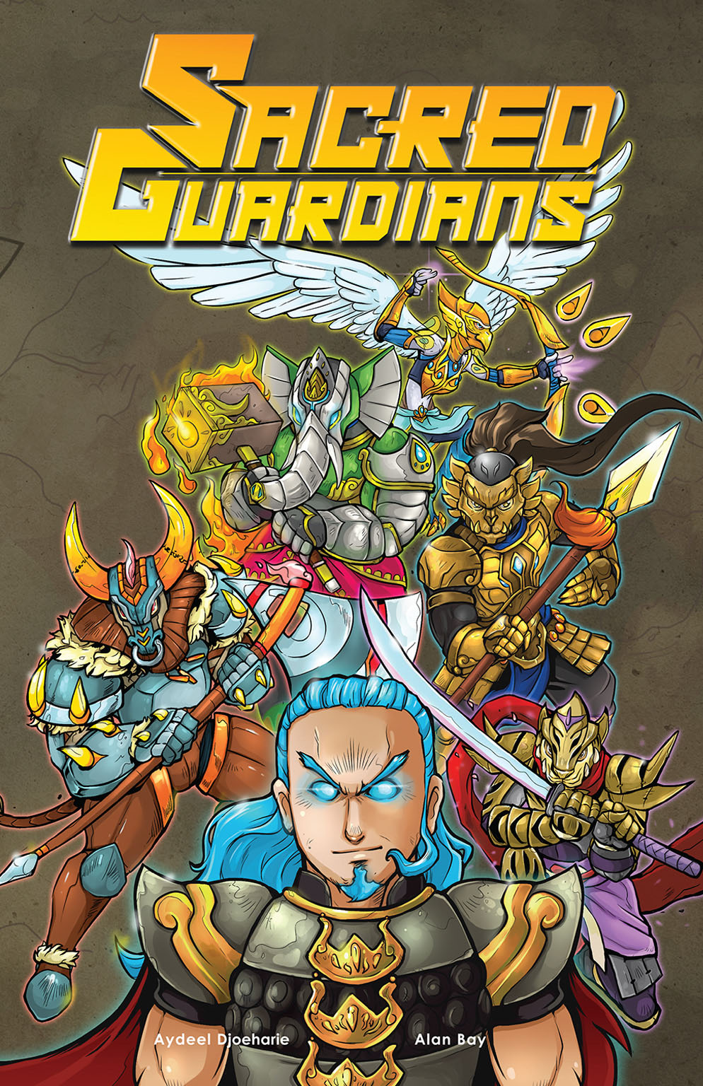 Sacred Guardians Comic Book Cover